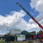 Redox flow batterij gearriveerd op test site ACRRES